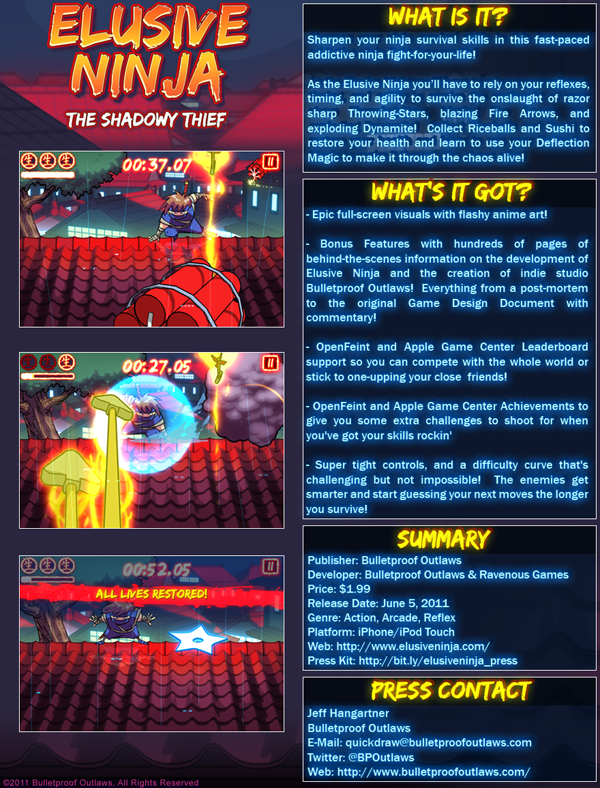 Elusive Ninja: The Shadowy Thief - Fact Sheet