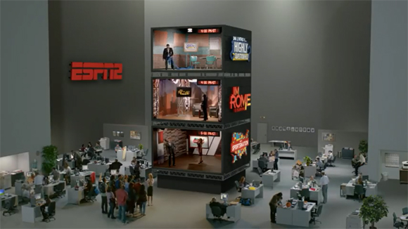 Brickyard VFX creates box set for ESPN
