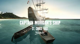 Audio Engine Delivers Captain Morgan's Commercial Spots