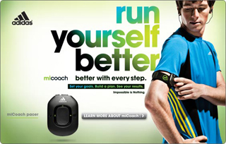 THQ and Adidas brings micoach
