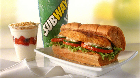 Charlex Gets Healthy With Subway