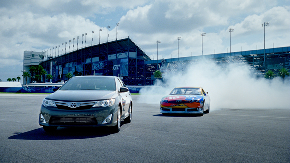 Brickyard VFX delivers Toyota Camry Do 'Donuts' Around Competition